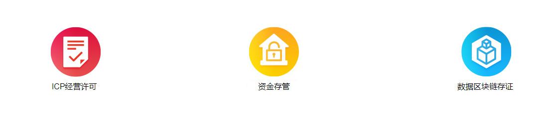 ICP经营许可,银行资金存管,公安等保三级,数据区块链存证
